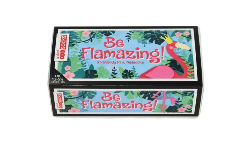 Be Flamazing Socks