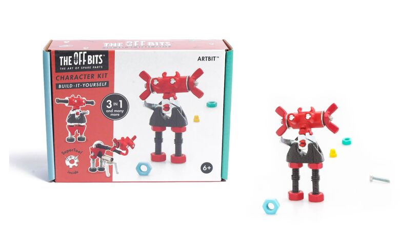 The Off Bits Character Building Kit Box