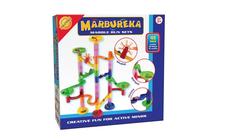 Marbureka Marble Run 45 pieces