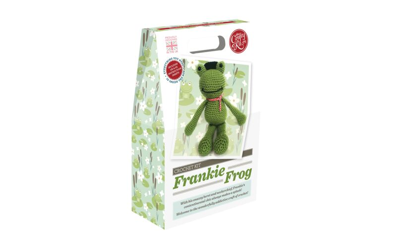 Crafty Kit Company Frankie Frog Crochet Kit