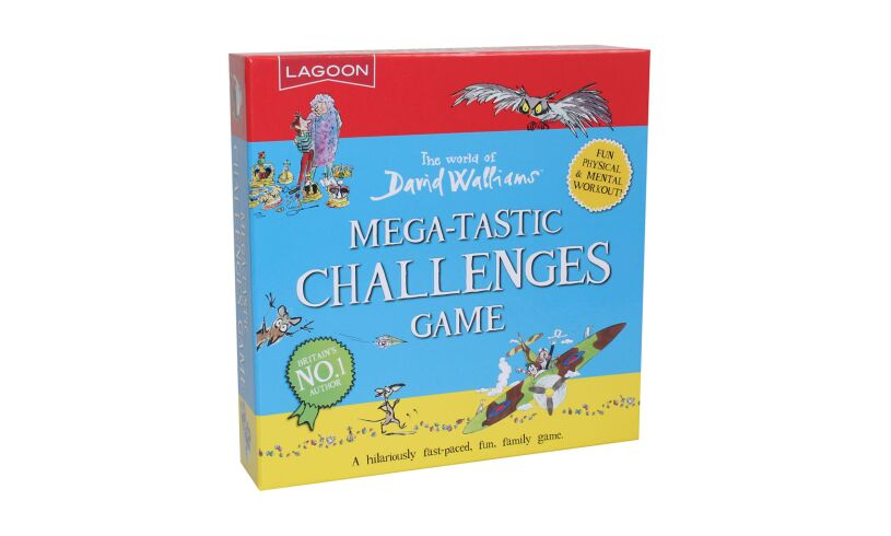David Walliams mega-tastic challenges game
