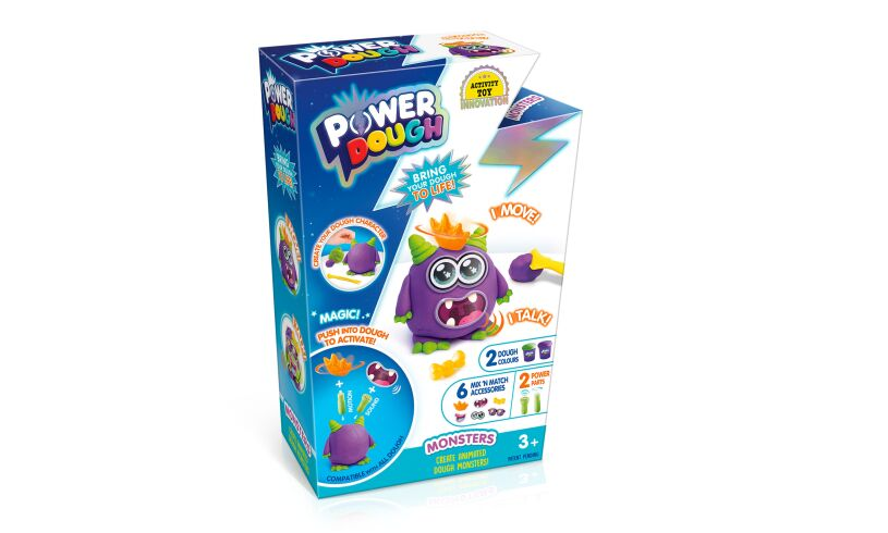 Power Dough Monsters