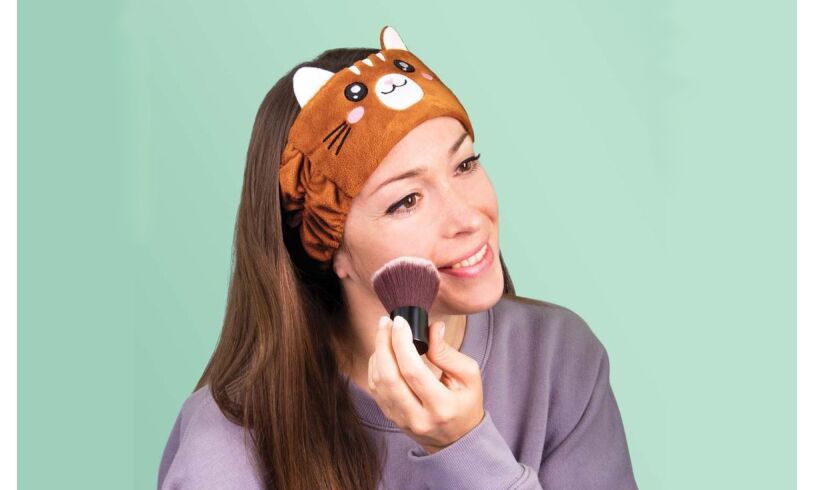 Cat Towelling Headband