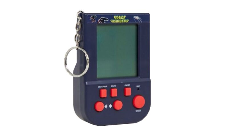 Space Invaders Keyring