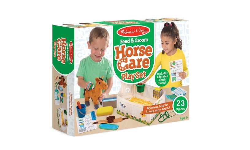 Horse Care Play Set Melissa and Doug
