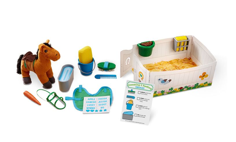 Horse Care Play Set 23 pieces