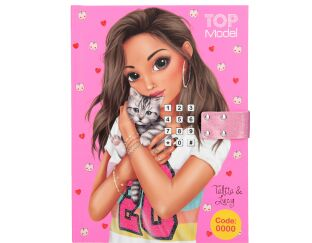 Top Model Secret Code Journal with Musical Keypad