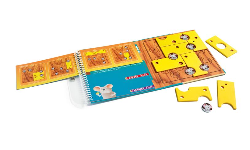 Brain Cheeser Magnetic Puzzle Game