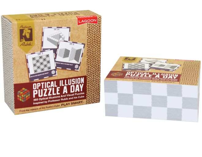 Rubik's Optical Illusion Puzzle a Day