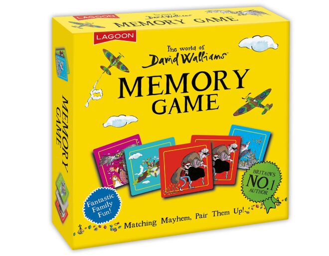 World of David Walliams Memory Game