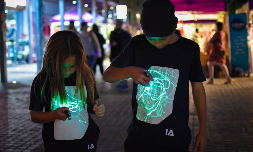 Illuminated Apparel Interactive T-Shirt