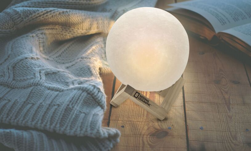 National Geographic 3D Moon Lamp