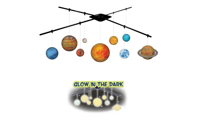 National Geographic Solar System 3D Mobile Experiment Set