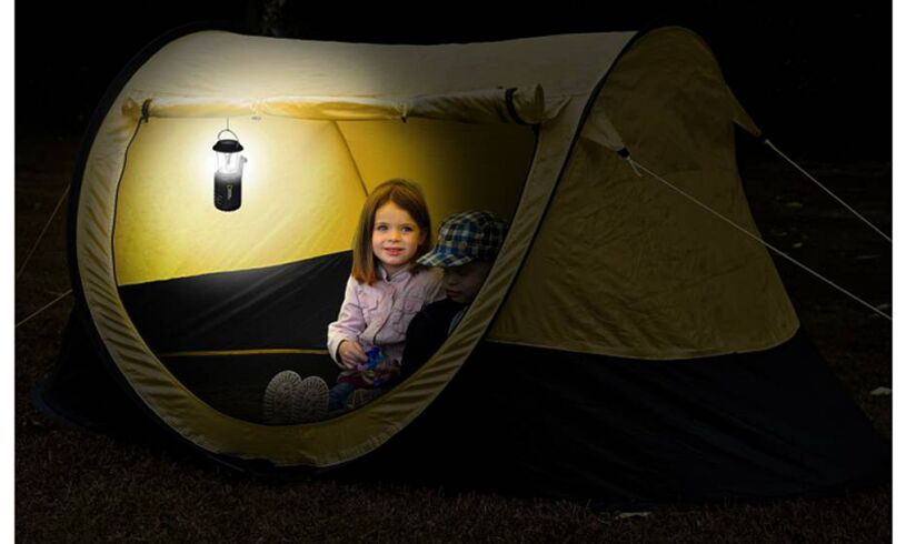 Camping Light with Radio