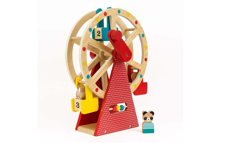Toy Wooden Ferris Wheel