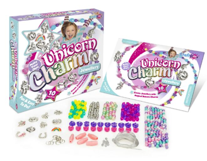 Craft Box Unicorn Charm Jewellery