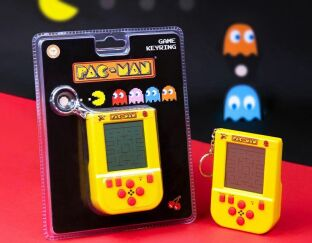 Pac-Man Keyring game