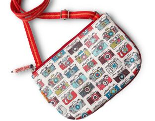 Sketchbook Camera City Purse
