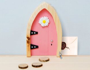 Magical Wooden Fairy Door - Believe!