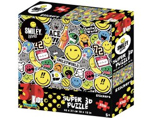 Smiley World Stickers 3D Puzzle