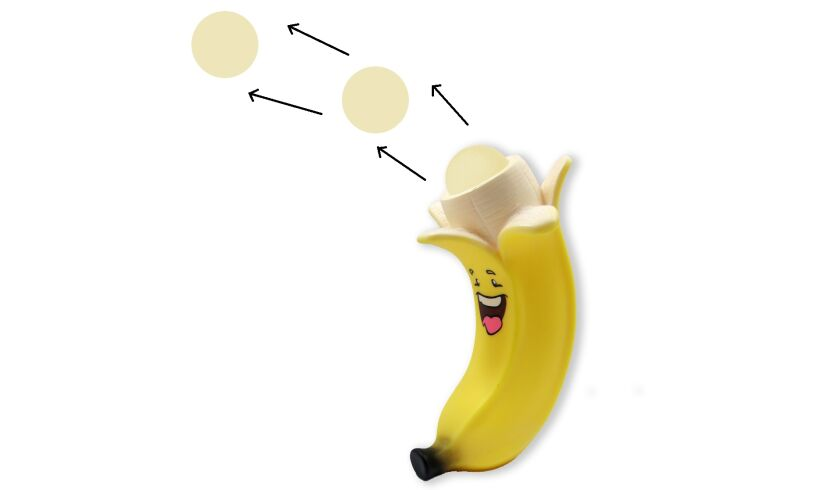 Banana Squeeze Popper