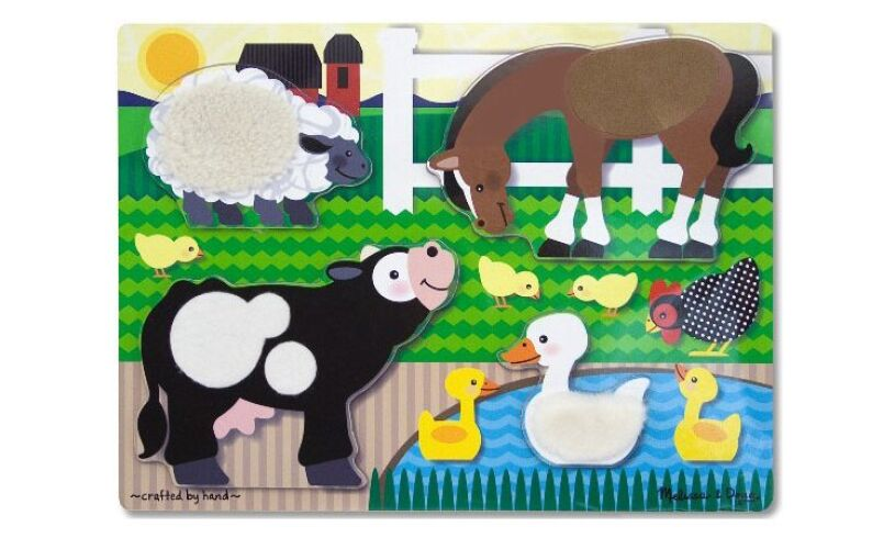Farm Touch & Feel Puzzle Pieces