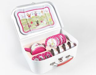 Floss and rock Bunny Tea Set