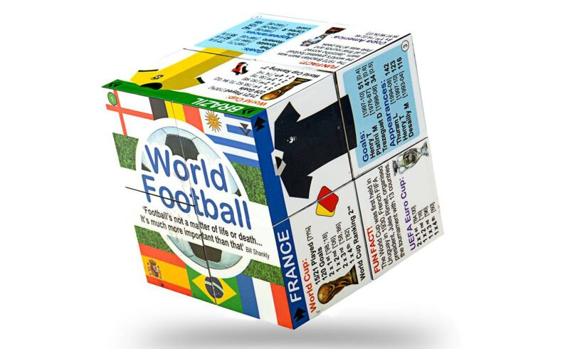 Zoobookoo World Football Cube Book