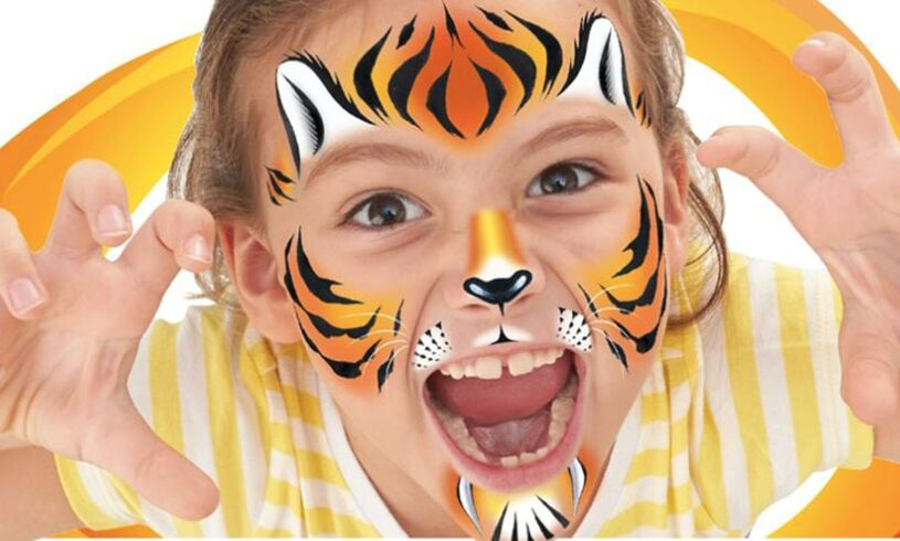 Interplay Face Paintoos Wild Pack