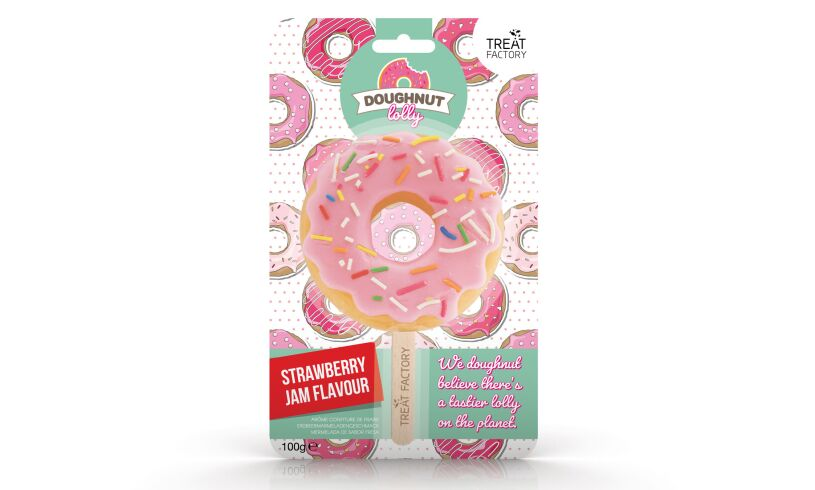 Treat Factory Doughnut Lolly