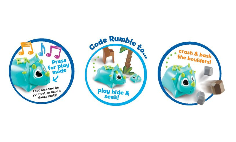 Learning Resources Rumble & Bumble