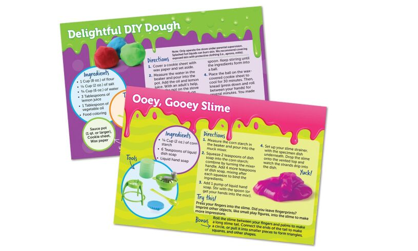 Yuckology Slime Lab Learning Resources