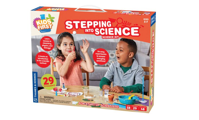 Stepping Into Science Kit Packaging