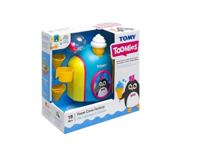 Tomy Foam Cone Factory Box