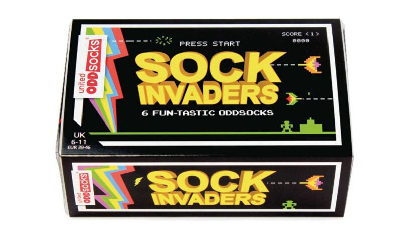 Sock InvadersUnited Odd Socks