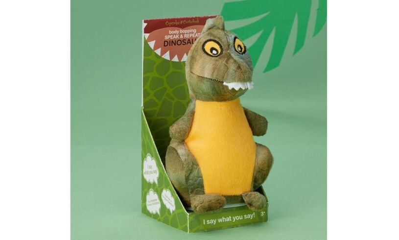 Speaking Dinosaur Toy