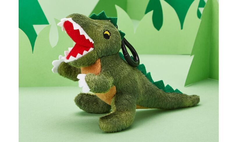 Plush Dinosaur Bag Charm