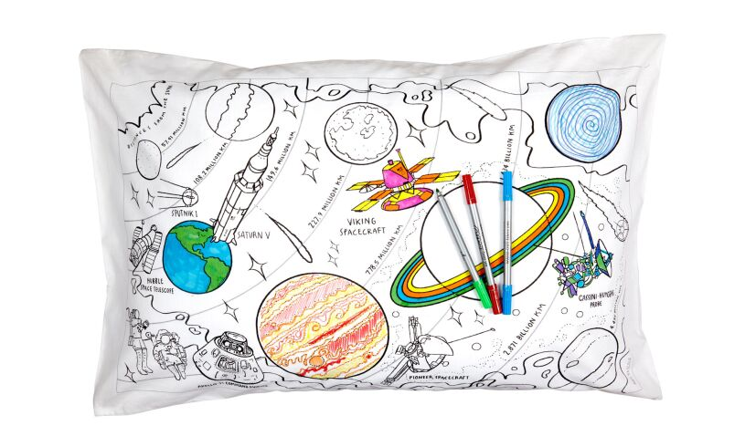 Colour In Space Pillowcase