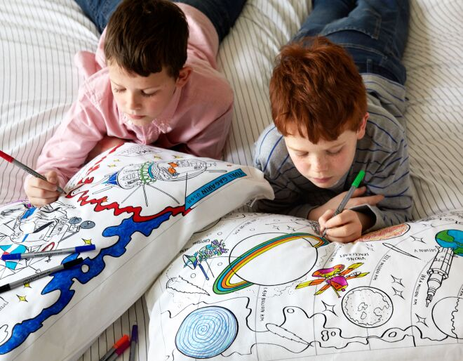 Doodle your own pillowcase