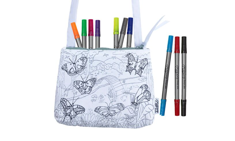 Butterfly Crossbody Bag Doodle your own