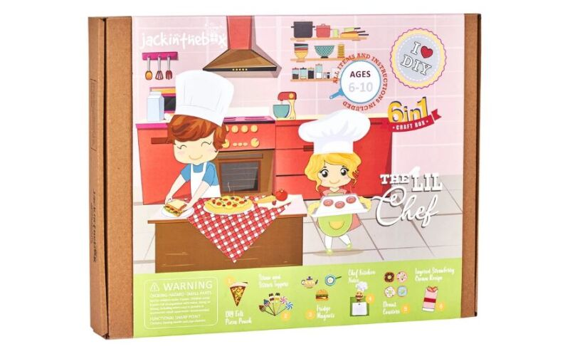 The Lil Chef 3 in 1 Craft Box