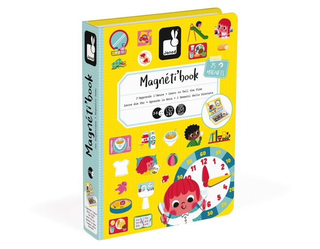Janod Magnetibook Tell the Time