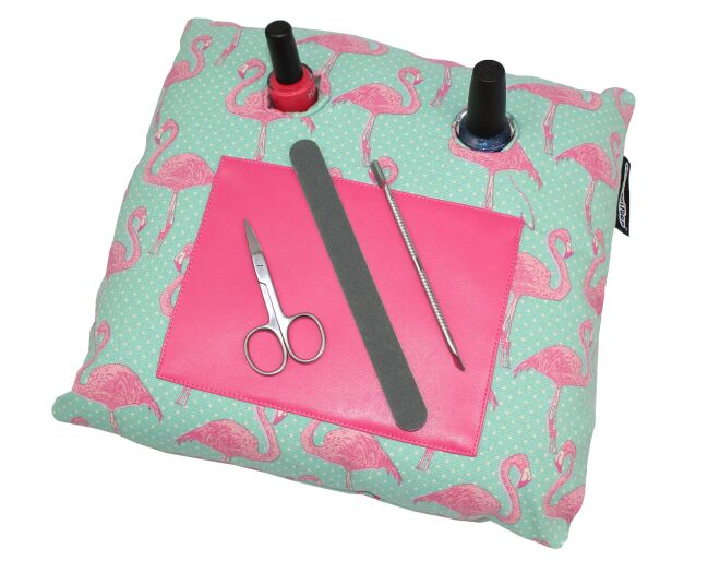 Flamingo Nail Manicure Cushion
