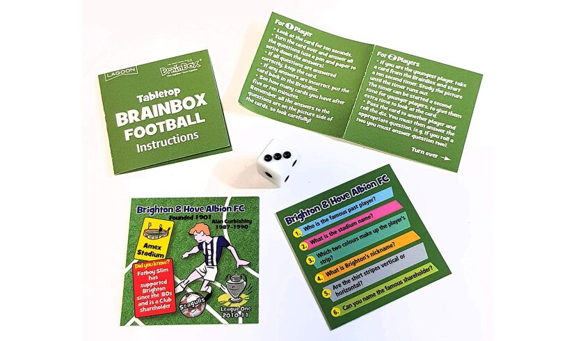 Tabletop Brainbox Football