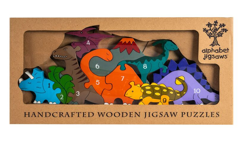 Dinosaur Row Alphabet Jigsaws