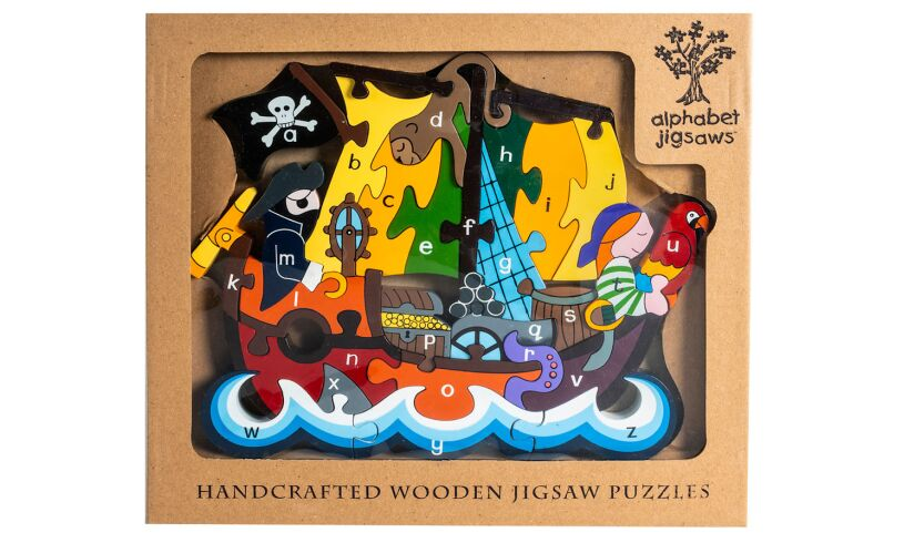 Pirate Ship Alphabet Jigsaws
