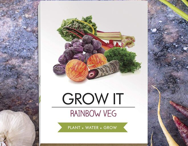 Rainbow Vegetables Growing Kit