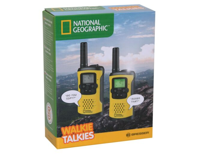 National Geographic Walkie Talkies Box