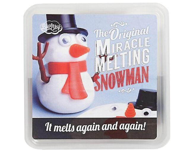 Miracle Melting Snowman