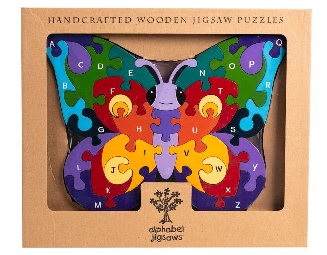 Alphabet Butterfly Jigsaw